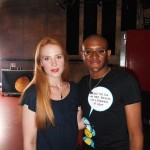 Simone Simons and I
