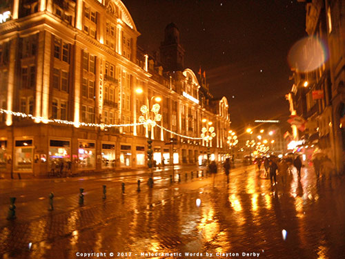 Amsterdam in the rain. Photo by Clayton Derby