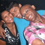 Dominique, Farid and I