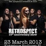 Epica Retrospect flyer