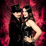 Tuomas Holopainen and Floor Jansen