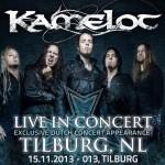 Kamelot live in Tilburg poster